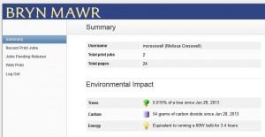 PaperCut Environmental Impact